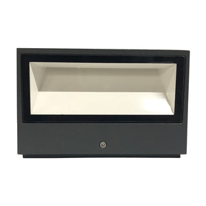 Lutec Gemini 9W Outdoor Led Wall Light - 4000K