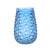 "Vase ""Diamond Cut"" Blau"