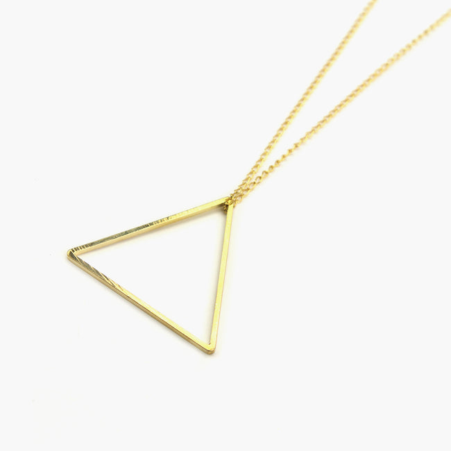 "Halskette ""Geometric Big Triangle"""
