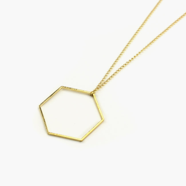 "Halskette ""Geometric Hexagon"""