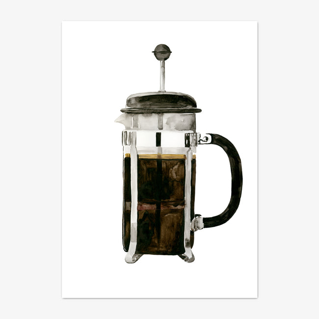 "Art Print ""French Press"""