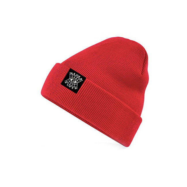 "Beanie ""Never Sleep"" Rot"