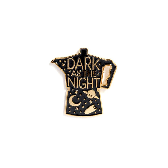 "Pin ""Dark As The Night"""