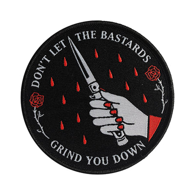 "Patch ""Don't Let The Bastards Grind You Down"""