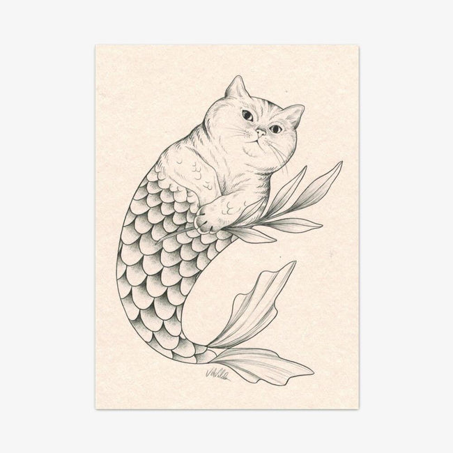"Postkarte ""Catfish"""
