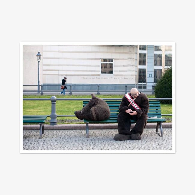 "Postkarte ""Headless Bear"""
