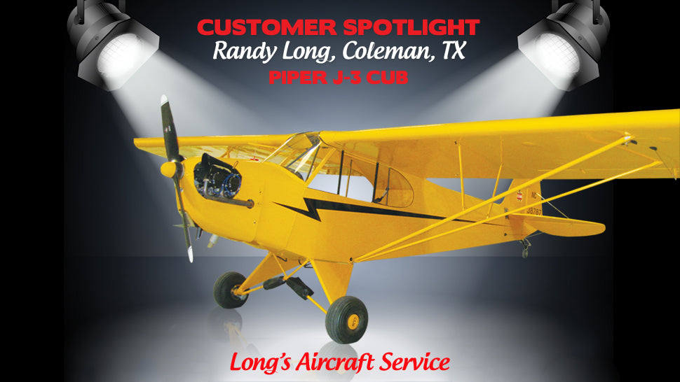 Superflite™ Customer Spotlight - Randy Long's Piper J-3 Cub