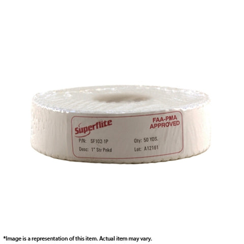 "SF102-1P Medium Weight 1"" Pinked Tape"