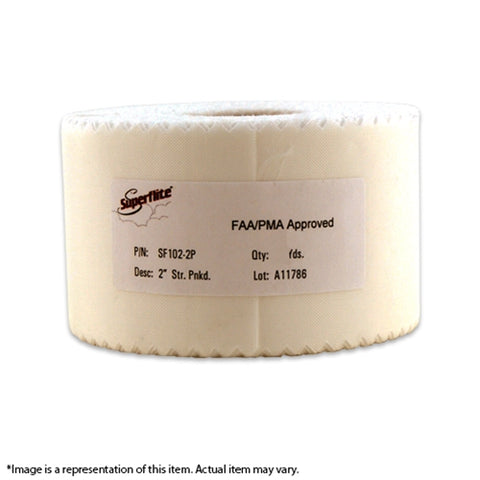 "SF102-2P Medium Weight 2"" Pinked Tape"
