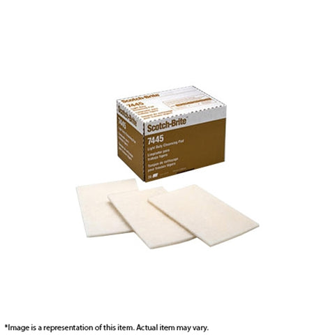 White Scotch Brite Pad