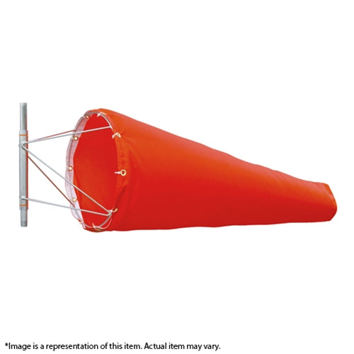 Orange Windsock 36x10