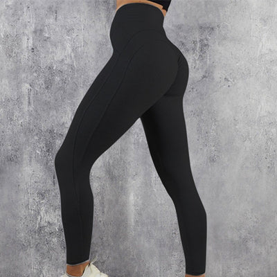 Mooie Sportlegging.Naadloze High Waist Sportlegging Sport Statement