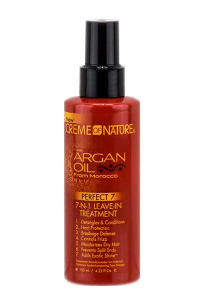 Creme of Nature Argan Oil 7 In 1 Leave In Treatment(4.23oz)