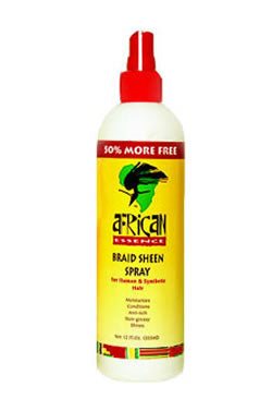 African Essence Braid Sheen Spray (12oz)