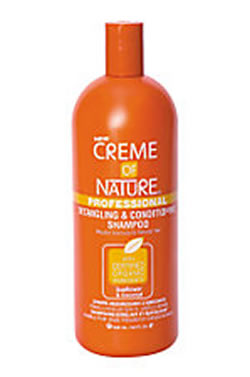 Creme of Nature Detangling & Conditioning Shampoo [Sunflower&Coconut Oil] (32oz)