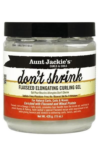 Aunt Jackie's Dont Shrink Flaxseed Elongating Curl Gel