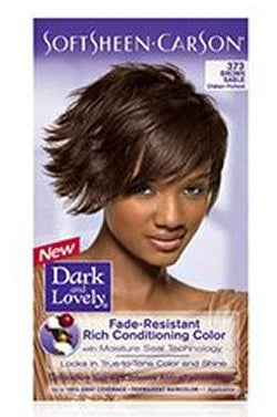 Dark & Lovely Hair Color Kit #373 Brown Sable