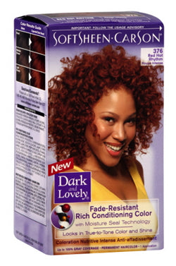 Dark & Lovely Hair Color Kit #376 Red Hot Rhythm
