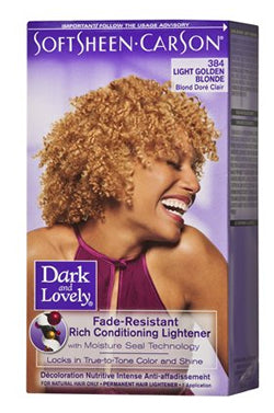 Dark & Lovely Hair Color Kit #384 Light Golden Blonde