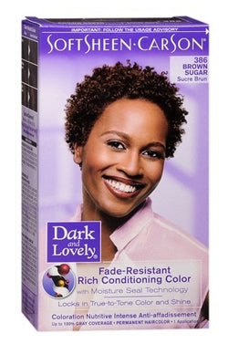 Dark & Lovely Hair Color Kit #386 Brown Sugar