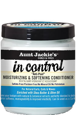 Aunt Jackie's In Control Moisturizing & Softening Conditioner (15oz)