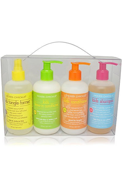 Mixed Chicks Kids 4pc Hair Care Set [4pc]