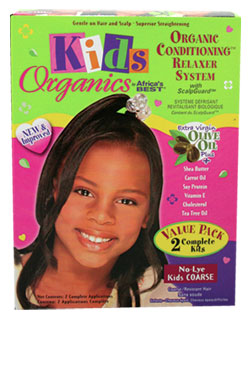 Africa's Best Kids Organics Value Pack Relaxer Kit (Regular)