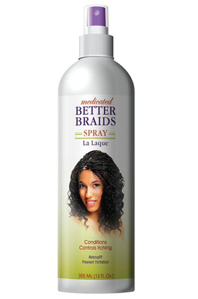 Better Braids Medicated Spray (12oz)
