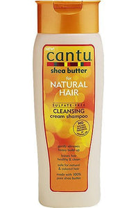 Cantu Natural Hair Sulfate Free Cleansing Cream Shampoo (13.5oz)