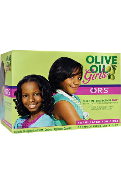ORS Olive Oil Girls No-Lye Cond Relaxer Kit