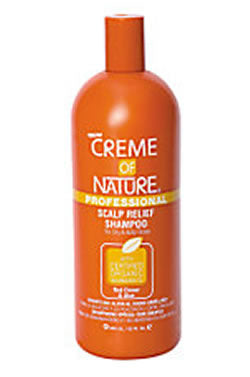 Creme of Nature Scalp Relief Shampoo[Red Clover&Aloe] (32oz)