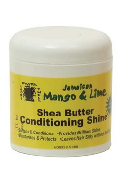 Jamaican Mango & Lime Shea Butter Conditioning Shine (6oz)