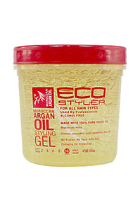 Eco Style Styling Gel [Argan Oil] (16oz)