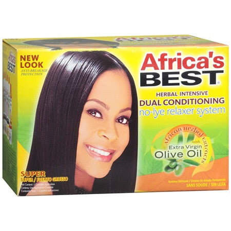 Africa's Best Relaxer Kit (Super)