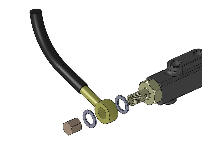 Fuel Rail Banjo Connection