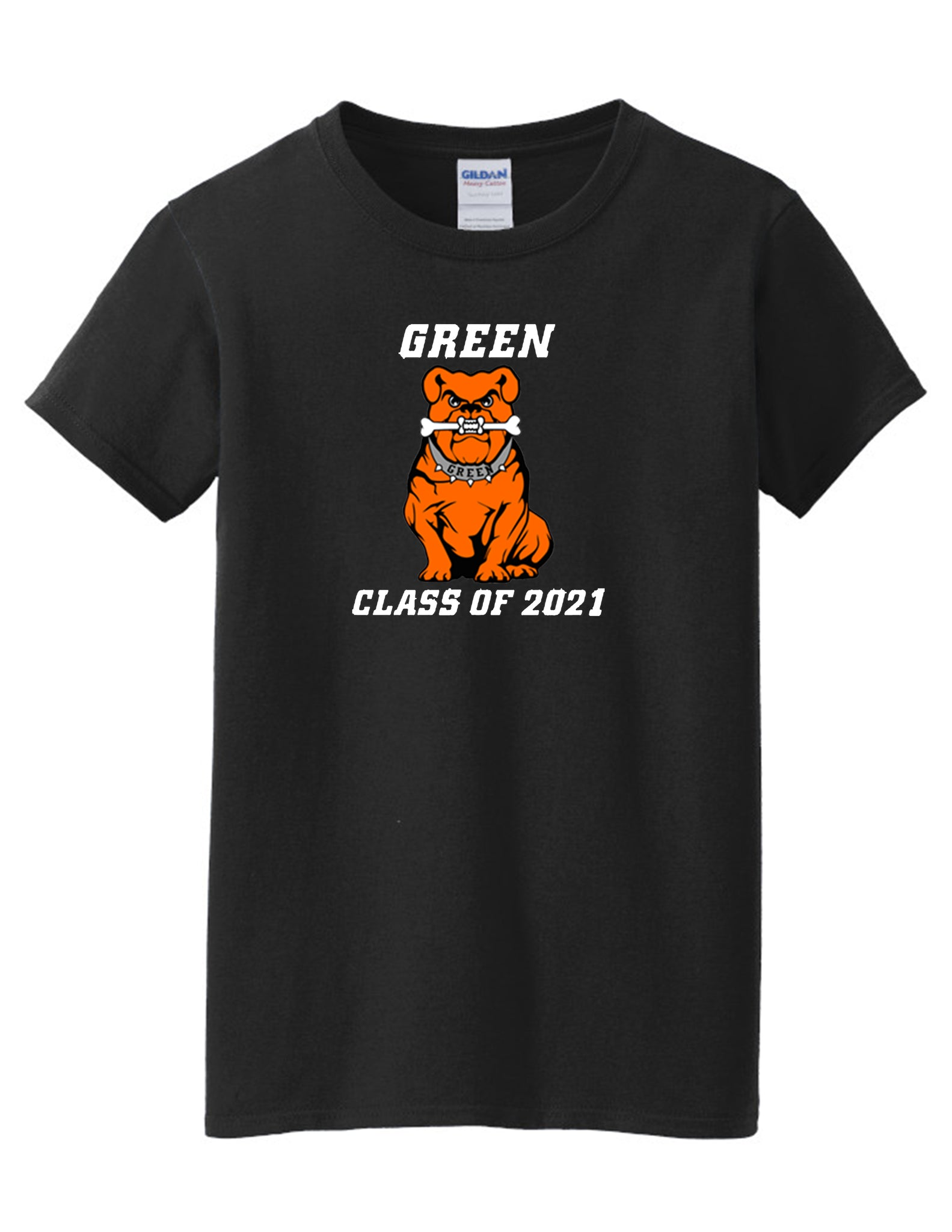 Green Class of 2021 Women's Short Sleeve Tee