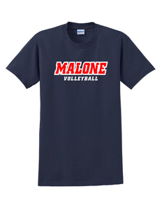 Malone Volleyball Men's Short Sleeve Tee