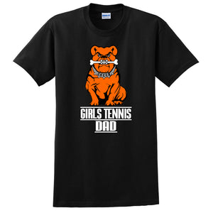 Green Girls Tennis Men's DAD Short Sleeve Tee
