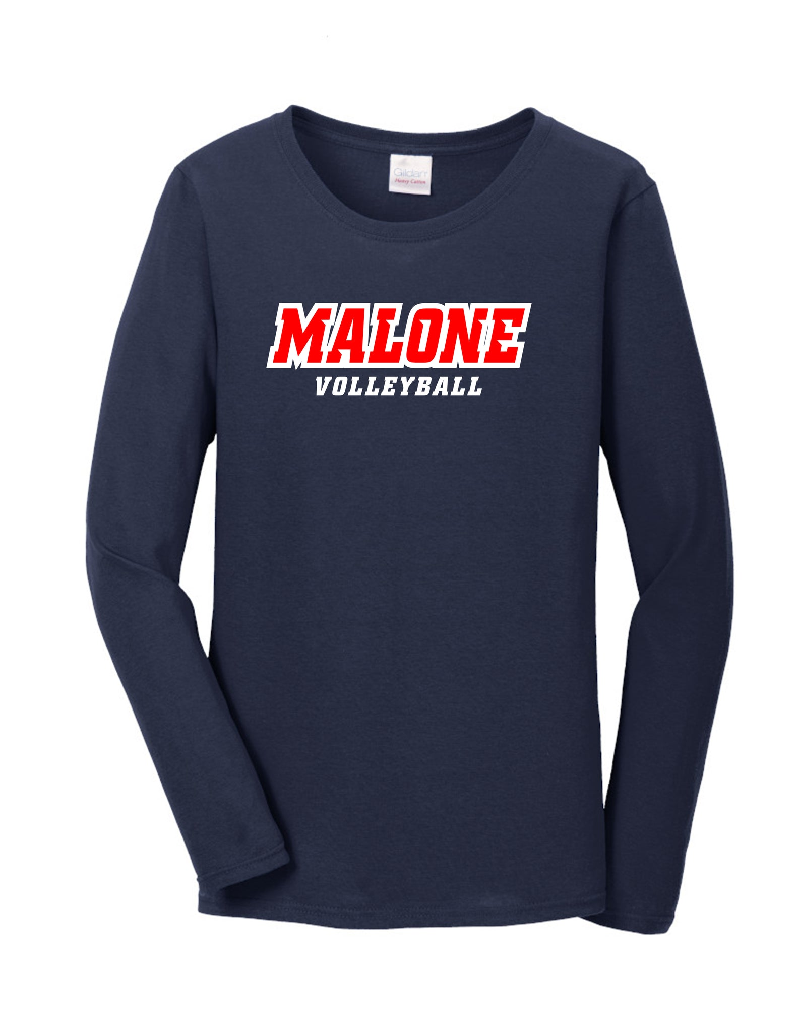 Malone Volleyball Women's Long Sleeve Tee