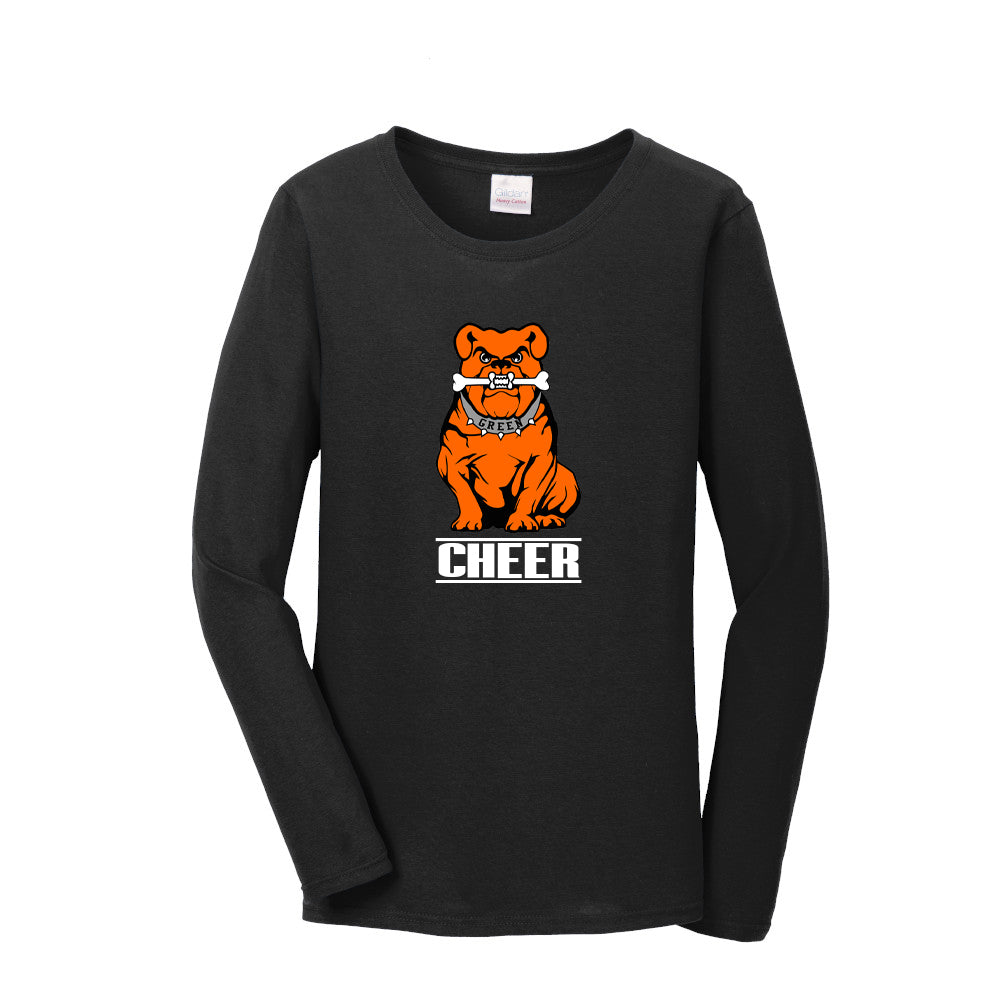 Green Cheer Women's Long Sleeve Tee