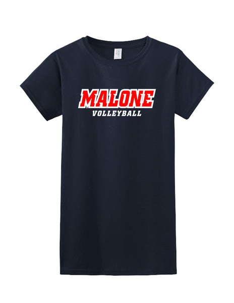 Malone Volleyball Short Sleeve Tee