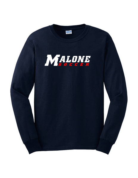 Malone Men's Soccer Mens Long Sleeve T-Shirt