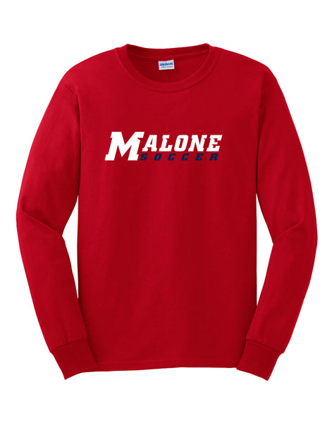 Malone Women's Soccer Mens Long Sleeve T-Shirt