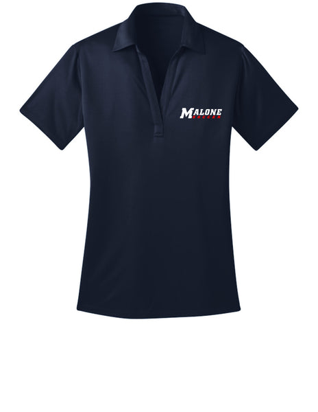 Malone Women's Soccer Womens Polo