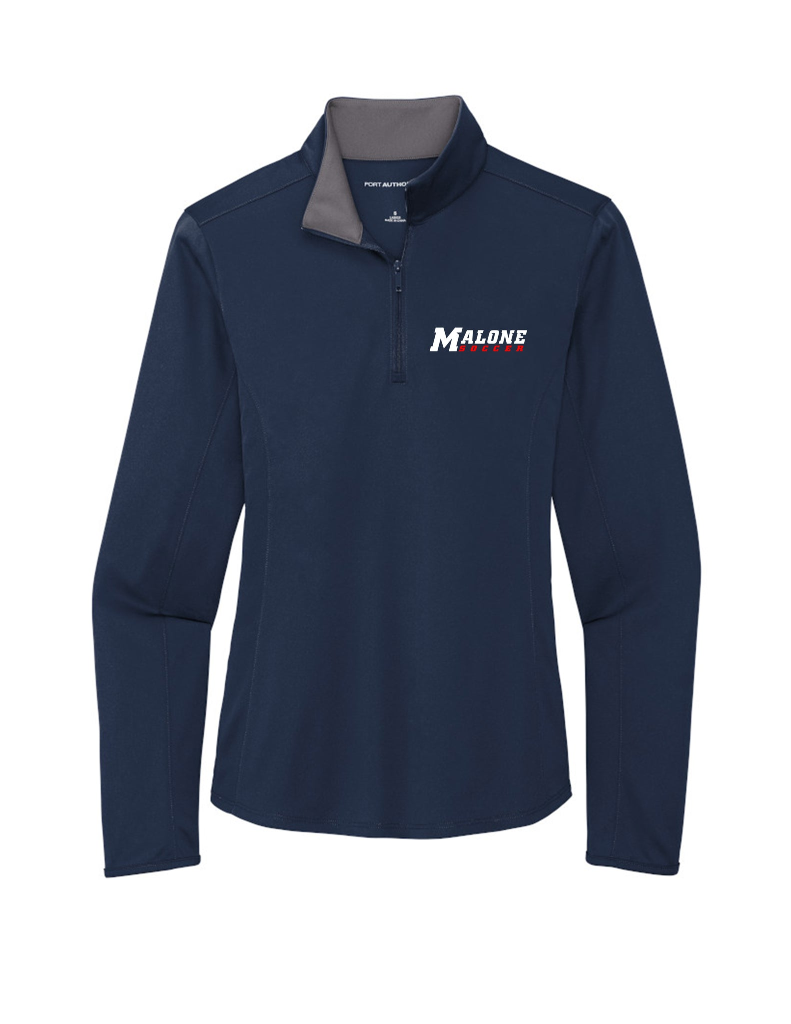 Malone Women's Soccer Womens 1/4 Zip