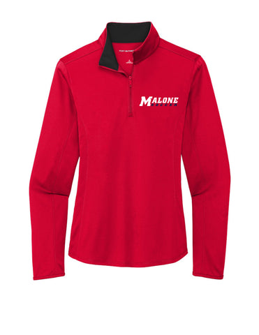 Malone Men's Soccer Women's 1/4 Zip