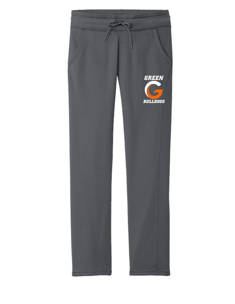 Green G Women's Fleece Pants