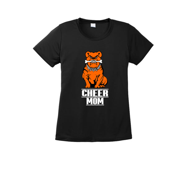 Green Cheer MOM Polyester Tee
