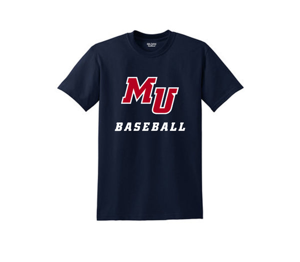 MU Baseball Short Sleeve Tee