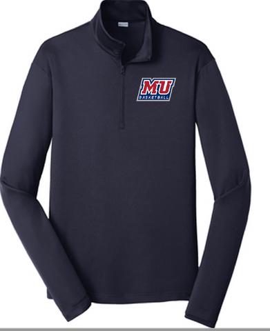 MU Basketball Quarter Zip